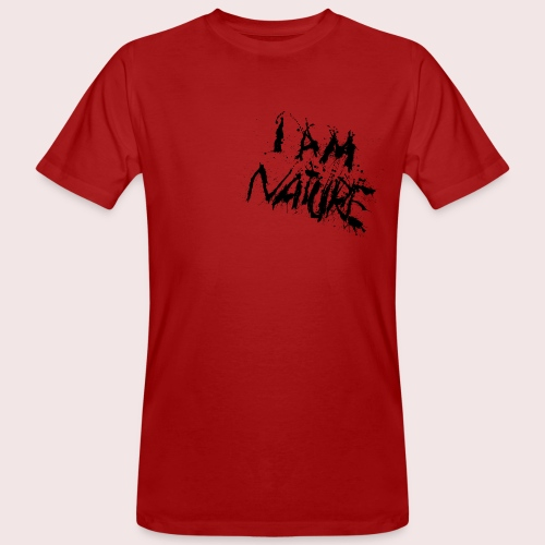 I AM NATURE (backprint) - Männer Bio-T-Shirt