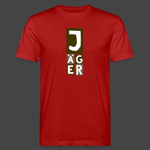 Der Jägerturm - original Jägershirt - Männer Bio-T-Shirt