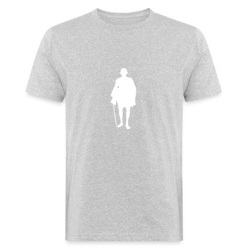mahatma gandhi silhouette ac61da original white - T-shirt bio Homme