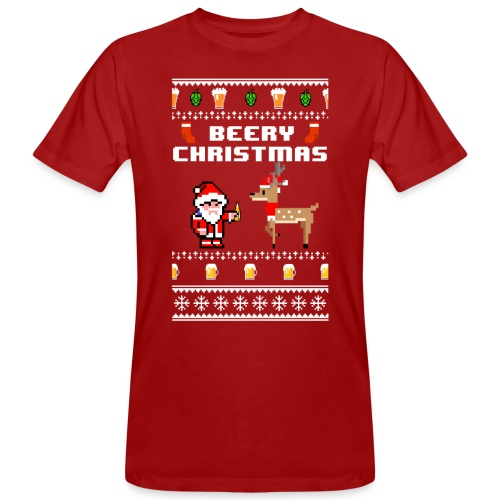 beery christmas - T-shirt bio Homme