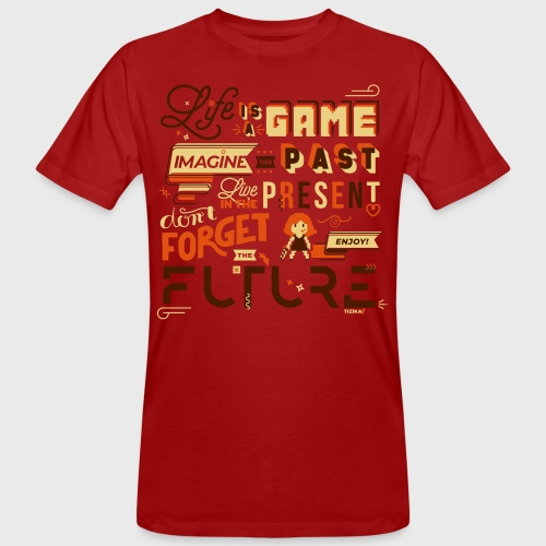 Life is a Game - T-shirt bio Homme
