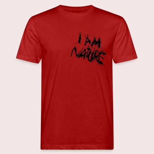 I AM NATURE (backprint) - Männer Bio-T-Shirt