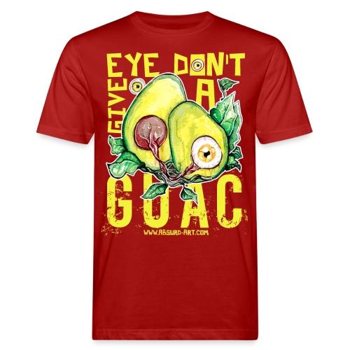 Eye don't give a Guac, von Absurd ART - Männer Bio-T-Shirt