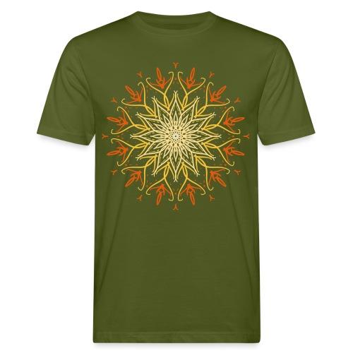 Mandala of fire - Men's Organic T-Shirt