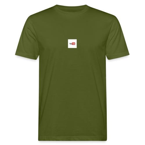 youtube beertje - Mannen Bio-T-shirt