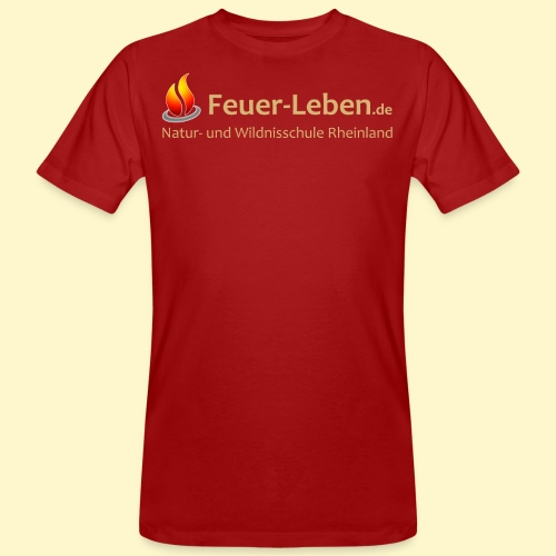 T-Shirt back 2 hell - Männer Bio-T-Shirt