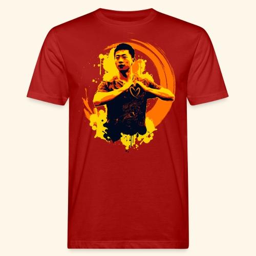 I heart table tennis championship - Männer Bio-T-Shirt