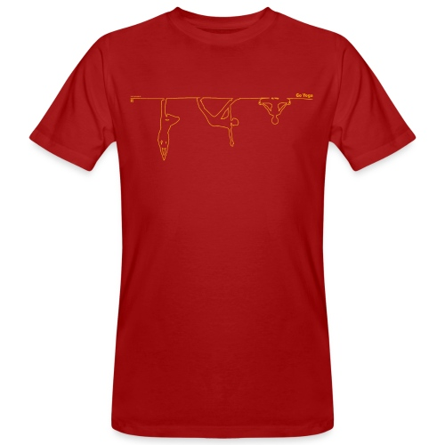 leiberl print 075mm 300 gif - Männer Bio-T-Shirt