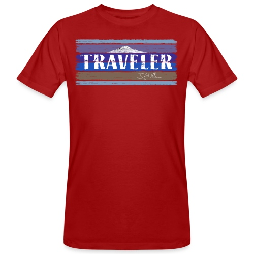 Jack McBannon - Traveler II - Männer Bio-T-Shirt