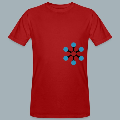 Star Bio T-shirt - Mannen Bio-T-shirt