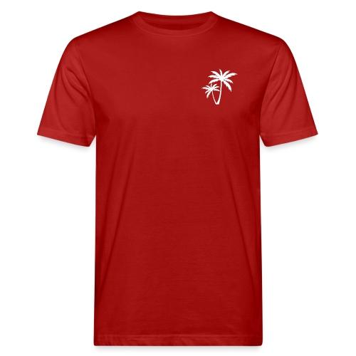 Palm Tree - Miesten luonnonmukainen t-paita