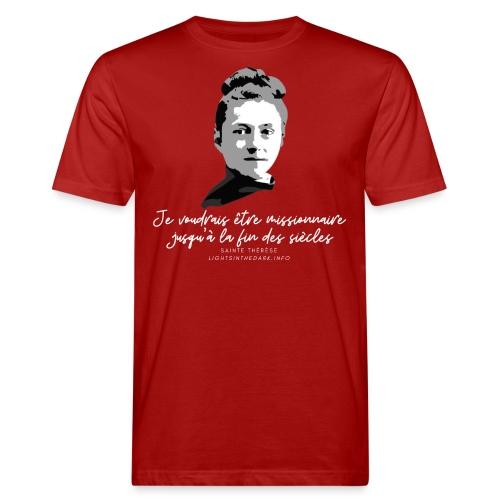 Sainte Therese patronne des missions - T-shirt bio Homme