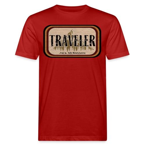 Jack McBannon -Traveler - Männer Bio-T-Shirt