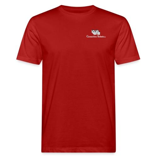 GS TShirt schwarz weiss - Männer Bio-T-Shirt
