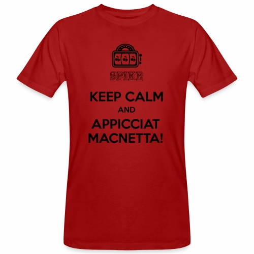 KEEP SPIKE Nero - T-shirt ecologica da uomo