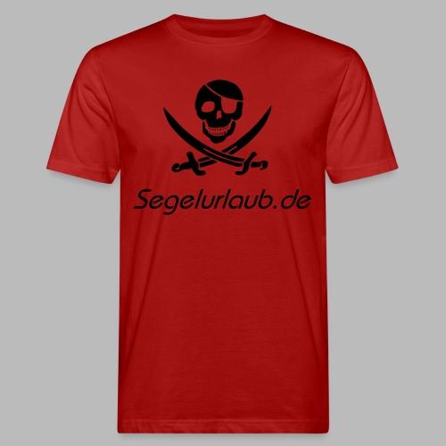 Piraten Flaggen Shirt Segelurlaub - Männer Bio-T-Shirt