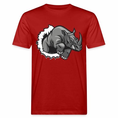 Méchant rhinocéros - T-shirt bio Homme