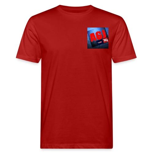AGJ Nieuw logo design - Mannen Bio-T-shirt