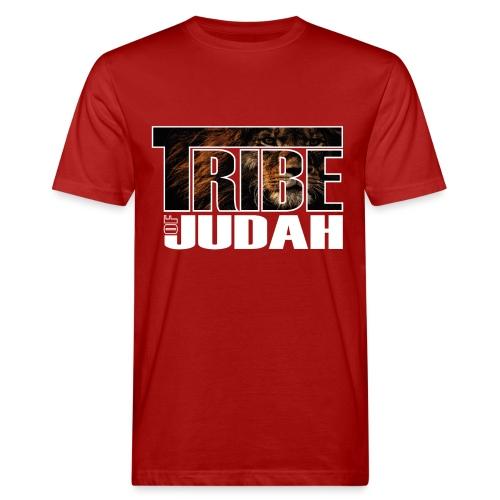 Sany O. Jesus Lion Tribe of Judah - Männer Bio-T-Shirt