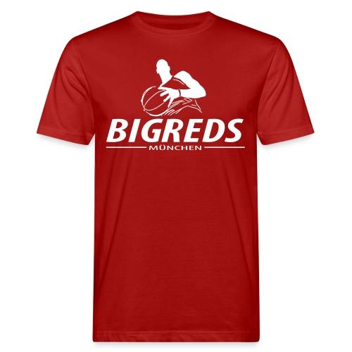 Bigreds Schrift mit Spie - Männer Bio-T-Shirt