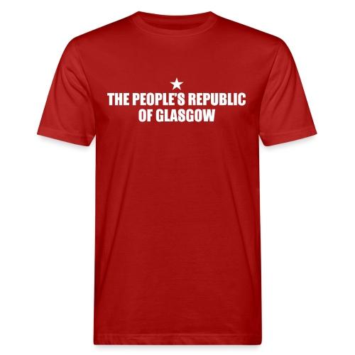 People's Republic Glasgow - Men's Organic T-Shirt