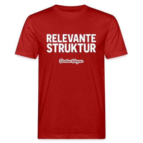Relevante Struktur - Männer Bio-T-Shirt