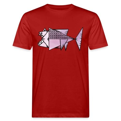 Lilla fisk - Ekologisk T-shirt herr