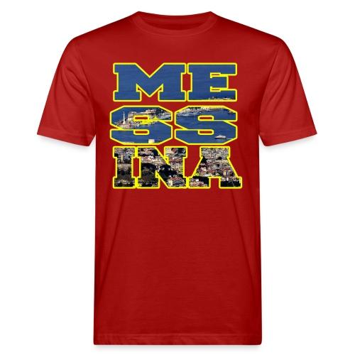 MESSINA YELLOW - T-shirt ecologica da uomo