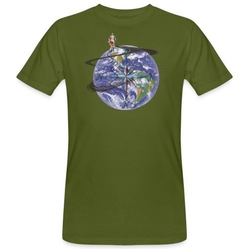 homme terre expression - T-shirt bio Homme