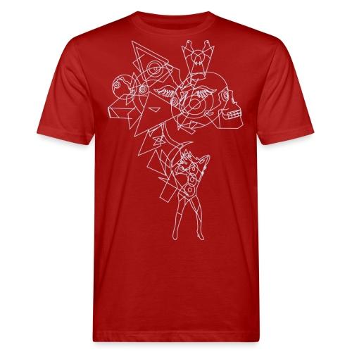Vibrant light - Mannen Bio-T-shirt