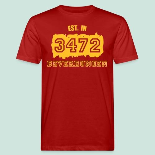 Established 3472 Beverungen - Männer Bio-T-Shirt