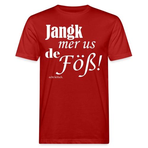 Jang mer us de Föß! - Männer Bio-T-Shirt