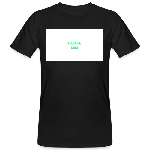 LetsTalk ColU - Men's Organic T-Shirt