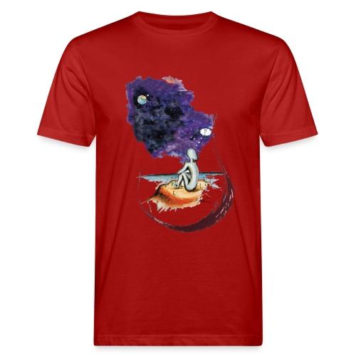 Extraterrestre en contemplation - T-shirt bio Homme