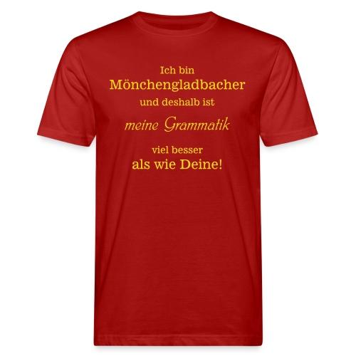 Gladbacher Grammatik - Männer Bio-T-Shirt