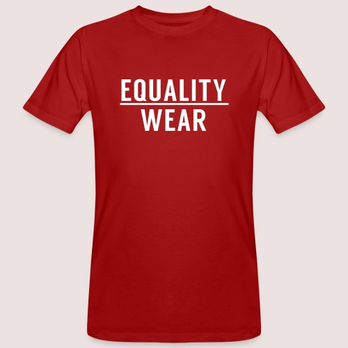 Equality Wear Official Pattern - Men's Organic T-Shirt