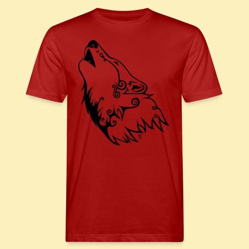 Le Loup de Neved (version traits) - T-shirt bio Homme