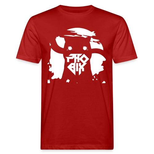 white 01big png - Männer Bio-T-Shirt