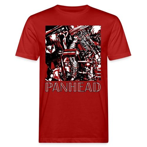 Panhead motordetail 01 - Mannen Bio-T-shirt