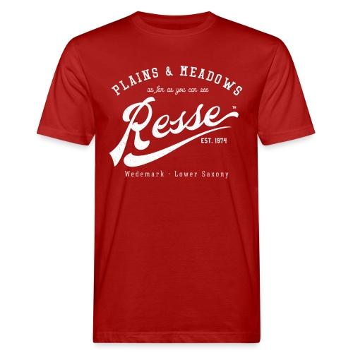 Resse Retrologo - Männer Bio-T-Shirt