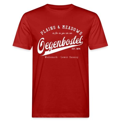 Oegenbostel Retrologo - Männer Bio-T-Shirt