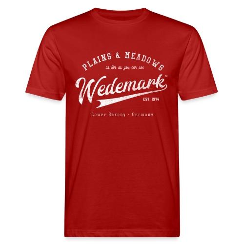 Wedemark Retrologo - Männer Bio-T-Shirt