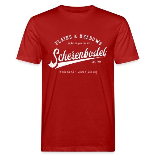 Scherenbostel Retrologo - Männer Bio-T-Shirt