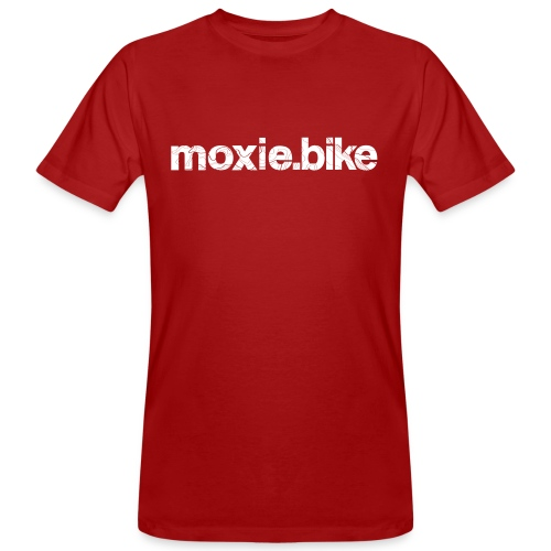 moxie.bike contour lines - Men's Organic T-Shirt