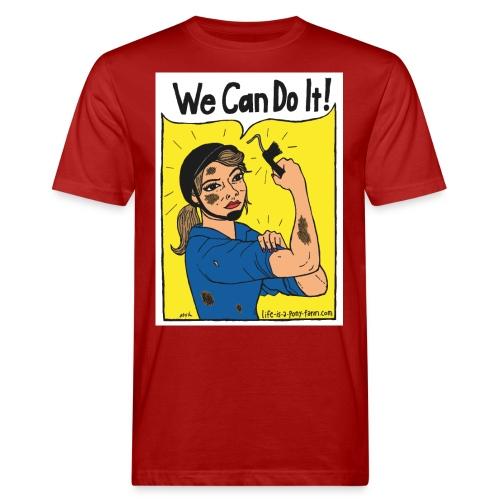 We Can Do It! - Miesten luonnonmukainen t-paita