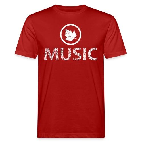 logo bashk music e bardhe - Men's Organic T-Shirt