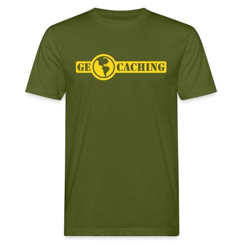 Geocaching - 1color - 2011 - Männer Bio-T-Shirt
