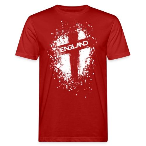 England Painted-White - Men's Organic T-Shirt