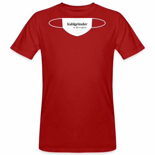 Kahlgruender in Quarantäne - Männer Bio-T-Shirt