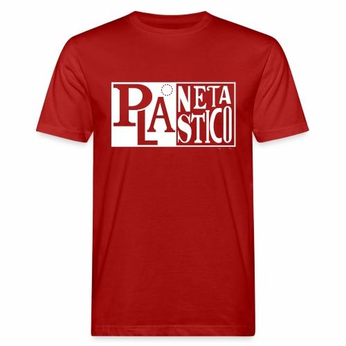 Planeta Plastico - Camiseta ecológica hombre